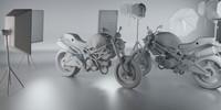 maya motorbike bike motor
