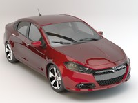 3d dodge dart 2013 studio