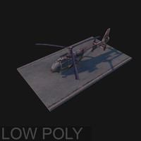 Hellicopter low poly