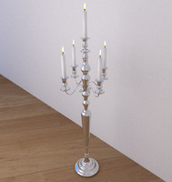 3d model candelabra