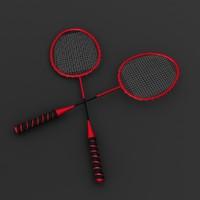 3d racquet modeled