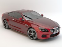 3d model bmw m6 coupe 2013