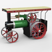 3d mamod steam tractor