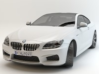 bmw m6 coupe sport 3d max