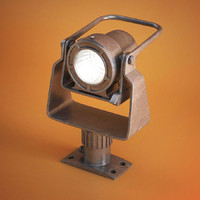 industrial lamp 3d model