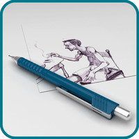 mechanical pencil 3d model