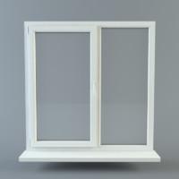 3d model pvc window