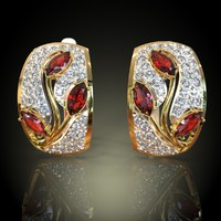 maya earring gold
