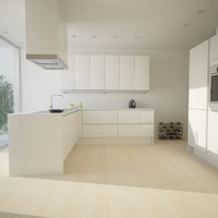 kitchen scene fbx
