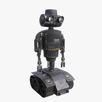 tactical robot 3d model