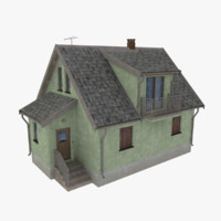 3d storey home scale model