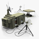 radar bunker 3D models