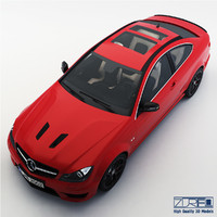 3d mercedes-benz c63 amg edition