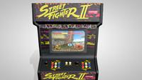 3d street arcade machine
