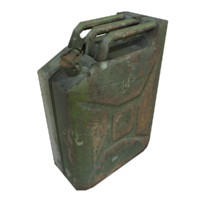 Jerry Can Low Poly