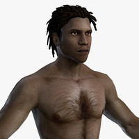 character mmorpg body 3d model