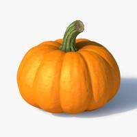 3d max pumpkin