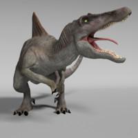 obj spinosaurus dinosaurs