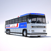 mci-9 greyhound bus 3d 3ds