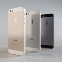 3d model apple 5s iphone