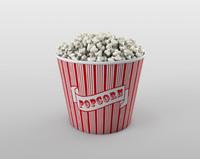 3ds bowl popcorn