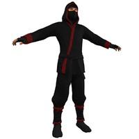 ninja man games 3d max