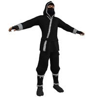 ninja 3 3d max