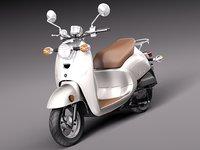 2014 classic yamaha 3d model