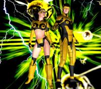 3d bee-team model