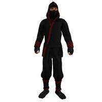rigged ninja 3d max