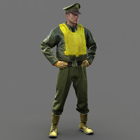 Soldier WW2 USA Fighter Pilot HD