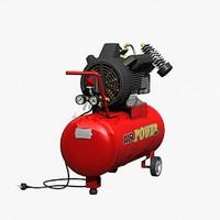3d air compressor model