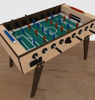 table football ball obj