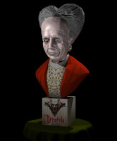 3ds max bust dracula