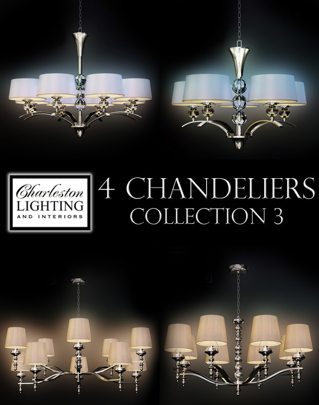 Charleston Lighting Interiors 3 3d Ma
