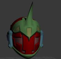 max sci fi space helmet