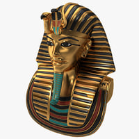 Gold Death Mask Of Tutankhamun