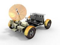3d model moon rover