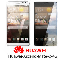huawei-ascend-mate-2-4g 2 white black 3d model
