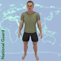 character clothes 3d model