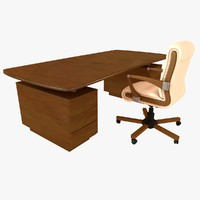 office desk chair 3d model