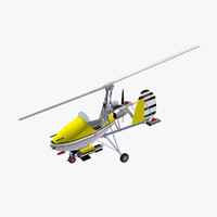 3dsmax little nellie autogyro