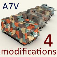 3d a7v tanks