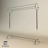 3d model eichholtz towel rack derby