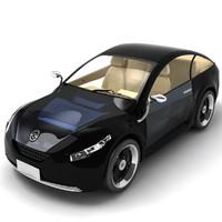 3d max future car