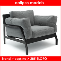 3d cassina rodolfo dordoni model