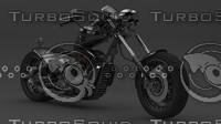 3d motorcycle bikes model