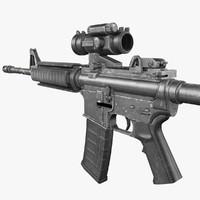 3dsmax m4 carbine