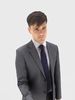 3d model of man businessman