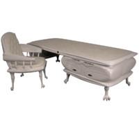 3d desk neoclassic model